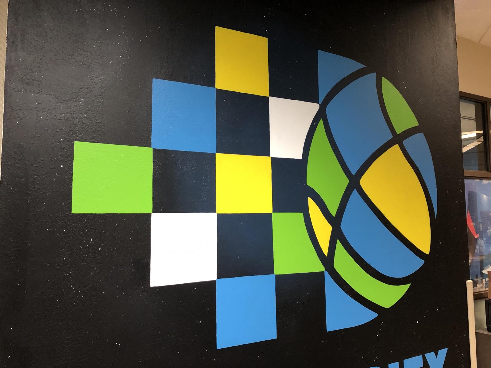 Circle City  Broadcasting Logo Pair